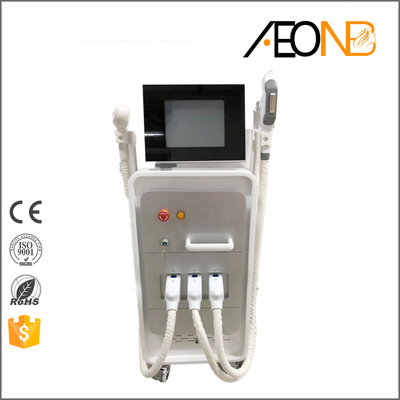 SHR/Ndyag laser/RF 4 in 1 multifunction machine